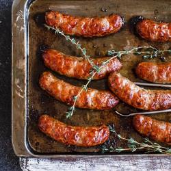 Gluten Free Meaty Pork Sausages - 454g