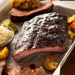 Sticky BBQ Glazed Pork Ribs - 450g