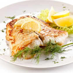 1 x 8-9oz Piri Piri Fresh Cod Fillet