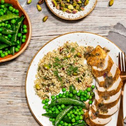 Persian Lime Chicken with Quinoa