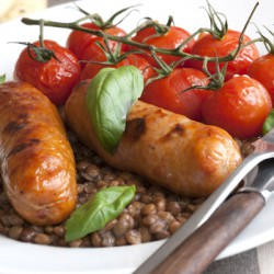 Pork & Leek British Sausages - 454g