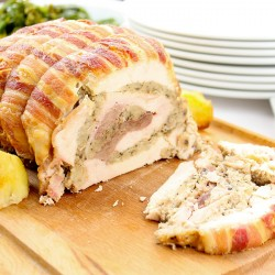 Luxury Four Bird Roast with Stuffing - 1.5kg