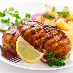 8-9oz Halal Chicken Breasts In Pairs - 5kg