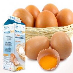 British Liquid Whole Eggs 1 Litre Carton