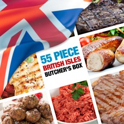 55 Piece British Isles Butcher's Box