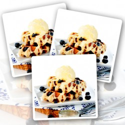 12 x Protein Blueberry Waffles - +20g Protein