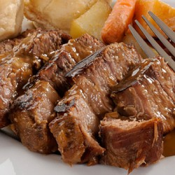 Free Range Braising Steaks - 500g