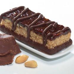 Schokoladen-Erdnuss-Riegel - 15 g Eiweiß