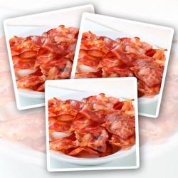 Unsmoked Streaky Bacon - 3 x 350g