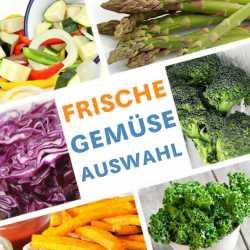 Frische Gemüse-Auswahl