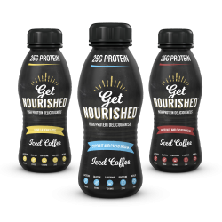Get Nourished Protein Coffee 310ml - 3 Pack