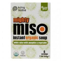 Organic Pumpkin & Veg Miso Soup - 6 Pack