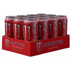 Monster Energy Ultra Red - 12 x 500 ml