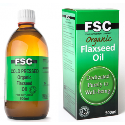 Organic Flaxseed Oil - 500ml