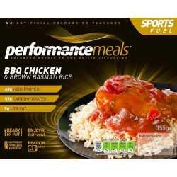 355 g performancemeals BBQ-Hähnchen & Basmatireis