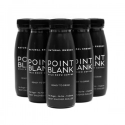 Point Blank Cold Brew Coffee Drink