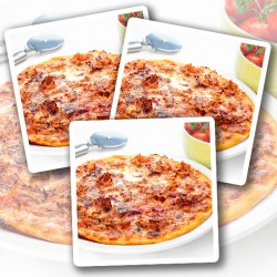 Pulled Beef Protein Pizza - 3 Pack