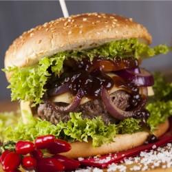Buffalo & Caramelised Onion Burger - 2 x 110g
