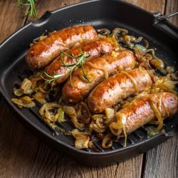 Wild Venison Sausages - 454g