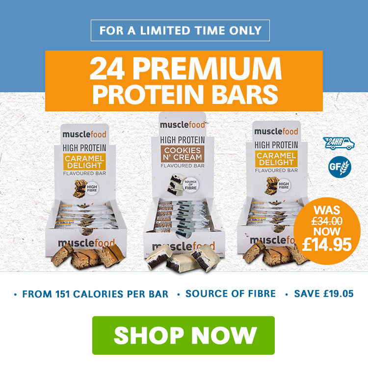 MuscleFood Protein Bars