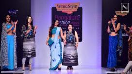 Tanishaa Mukherji Walks for Sangeeta Sharma at BFW WF 2016