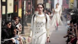 Samant Chauhan Showcases at Amazon India Fashion Week 2017