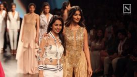 Pooja Hegde Turns Showstopper for Sonaakshi Raaj at Lakme Fashion Week WF 2017