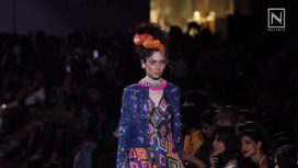 Comsic Love by Manish Arora at Lakme Fashion Week WF 2017