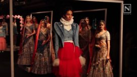 Shreeya Somaiya at Lakme Fashion Week Winter Festive 2017