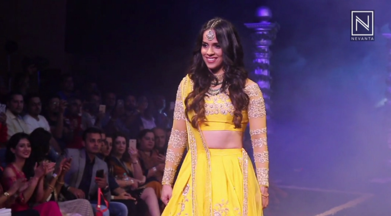 Saina Nehwal s Her Thoughts Walking The Ramp Nevanta