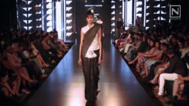 Blacks and Whites by Abraham & Thakore at Blenders Pride Fashion Tour 2017