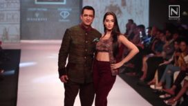 Bollywood Celebrities at Pune Fashion Week 2017