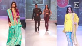 Designers and their Showstoppers- Noyonita & Lopamudra, Sanjay & Nora