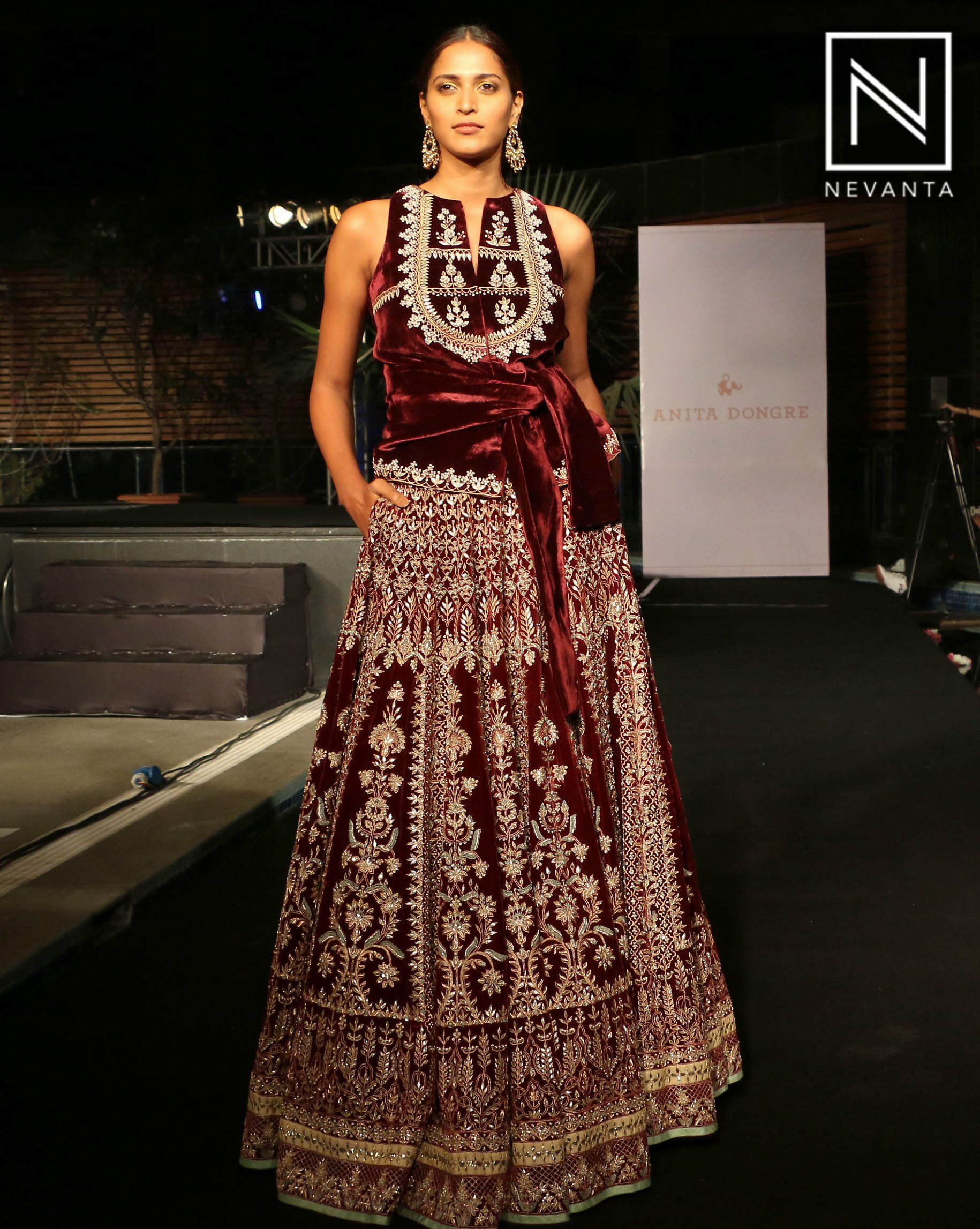Anita Dongre\'s bridal collection showcased at The Wedding Junction ...