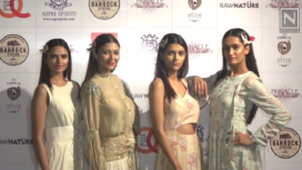 Shruti Sancheti Showcases her Spring Summer Collection 2018