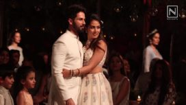 Shahid Kapoor and Wife Mira Rajput Share their Experience as Showstoppers for Anita Dongre