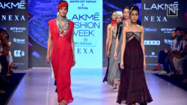 Tilla by Aratrik Showcases at Lakme Fashion Week Summer Resort 2018