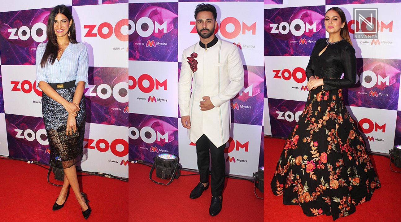 Trendspotting celebrity stars in stripes recommend dress in winter in 2019