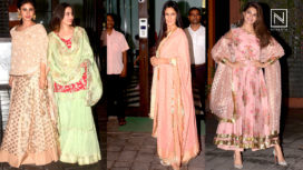 Bollywood Celebrities Spotted in their Best Traditional Avatars