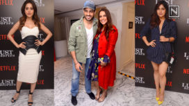 Bollywood Celebrities Grace the Premiere of Lust Stories
