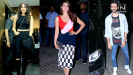 Bollywood Celebrities at the Special Screening of Race 3