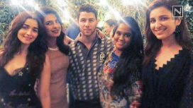 Celebrities Arriving in Style at the Engagement Party of Priyanka Chopra and Nick Jonas