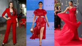Bollywood Ladies Looking Red Hot in the All Time Favourite Colour Red