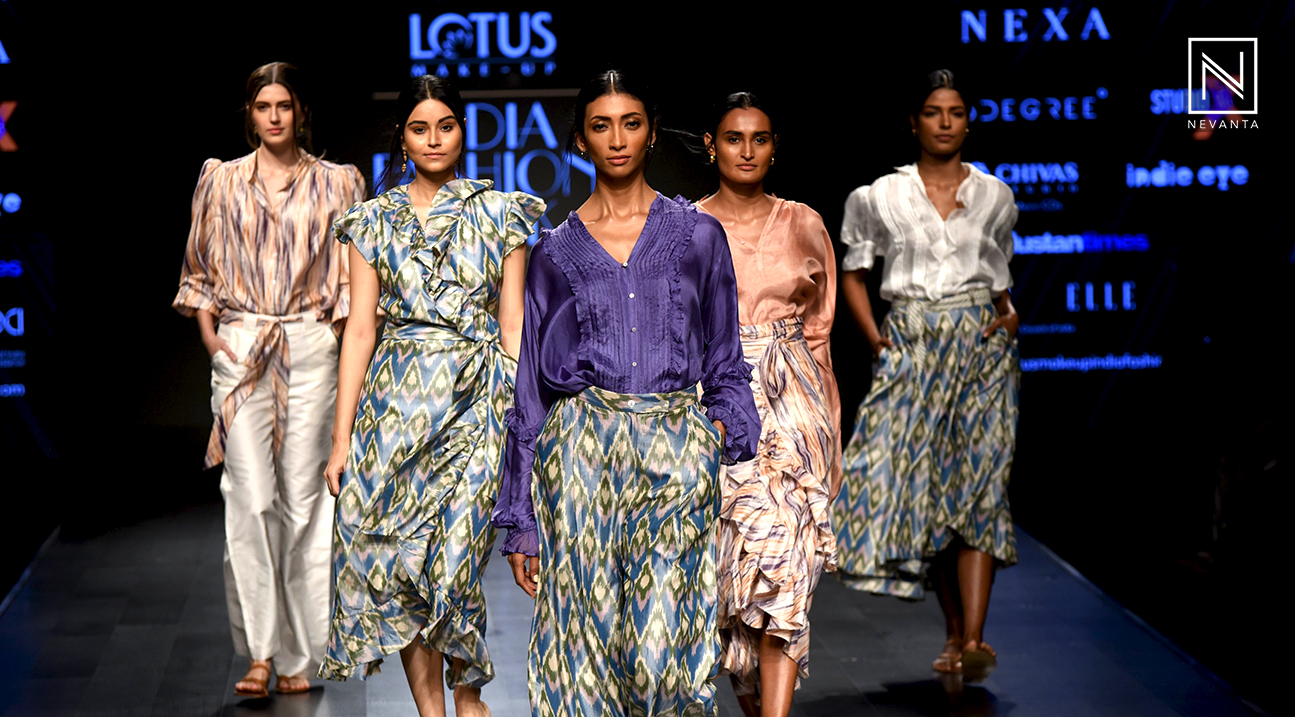 Watch The Gist Of Lotus Makeup India Fashion Week Spring Summer 2019