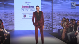 Shawar Ali Turns Showstopper for Dhruv Hingle at Bombay Times Fashion Week 2018