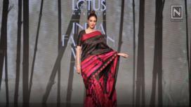 Tabu Makes a Statement as Sanjukta Dutta's Showstopper at Lotus Makeup India Fashion Week SS19