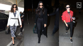 Celebrities Spotted at the Airport in their Ace Fashion Game