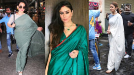 B-Town Divas are Keeping it Casual and Stylish with these Saris