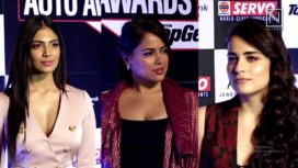 Celebs Attend the 11th Edition of Times Auto Awards 2019