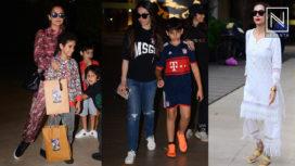 Celebrities at Karisma Kapoor's Son Kiaan Kapoor's Birthday Celebration